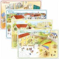 Inklusion im Anfangsunterricht – Poster mit allen 4 Situationsbildern