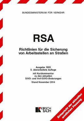 rsa richtlinien f r die sicherung von arbeitsstellen an. Black Bedroom Furniture Sets. Home Design Ideas