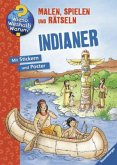 Indianer, Malbuch (Mängelexemplar)