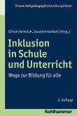 Inklusion in Schule und Unterricht (eBook, PDF)