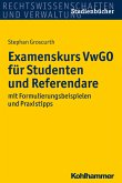 Examenskurs VwGO für Studenten und Referendare (eBook, PDF)