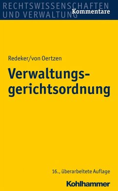 Verwaltungsgerichtsordnung (eBook, ePUB) - Redeker, Martin; Kothe, Peter; Nicolai, Helmuth von