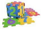 Puzzlematten Zahlen 10-teilig, 20x20cm