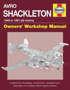 Avro Shackleton Owners' Workshop Manual - 1949 to 1991 (All Marks): Insights Into the Design, Construction, Operation and Restoration of a Classic Pis - Wilson, Keith