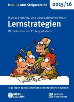 MEDI-LEARN Skriptenreihe 2015/16: Lernstrategien