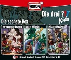 Die drei Fragezeichen-Kids Bd.16-18, 3 Audio-CDs - Blanck, Ulf