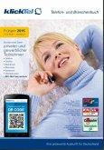 klickTel Telefon- und Branchenbuch Frühjahr 2015