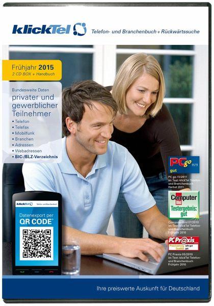 KlickTel Telefon- und Branchenbuch inkl. Rückwärtssuche Frühjahr 2015