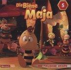 Die Biene Maja (CGI) - Die falsche Wespe, Max wird mutig u.a., 1 Audio-CD