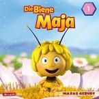 Die Biene Maja (CGI) - Majas Geburt, Willis Flasche u.a., 1 Audio-CD