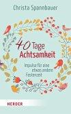 40 Tage Achtsamkeit (eBook, ePUB)