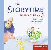 3. Jahrgangsstufe, 2 Audio-CDs / Storytime, Ausgabe 2013
