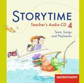 4. Jahrgangsstufe, Teacher's Audio-CD, Audio-CD / Storytime, Ausgabe 2013