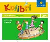Kolibri: Das Musikbuch DVD und 4 CDs. Grundschulen. Bayern.