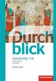 Durchblick Geschichte und Politik 5 / 6. Arbeitsheft. Realschulen in Niedersachsen