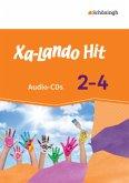 Hit, 2 Audio-CDs / Xa-Lando, Zusatzmaterialien für alle Ausgaben Bd.2-4