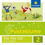 2. Schuljahr, Audio-CD, Audio-CD / Pusteblume. Das Lesebuch, Allgemeine Ausgabe 2015