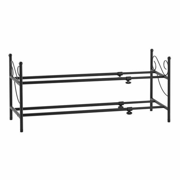 miavilla schuhregal air schwarz portofrei bei b. Black Bedroom Furniture Sets. Home Design Ideas