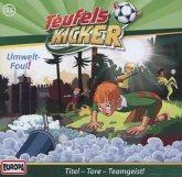 Teufelskicker - Umwelt-Foul! / Teufelskicker Hörspiel Bd.55 (1 Audio-CD)