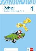 1. Schuljahr, Buchstabenheft plus, 3 Hefte / Zebra, Ausgabe ab 2011