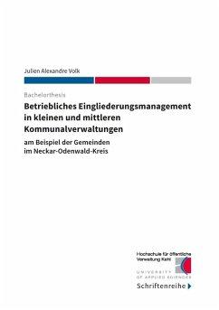 Betriebliches Eingliederungsmanagement in kleinen und mittleren Kommunalverwaltungen (eBook, ePUB)