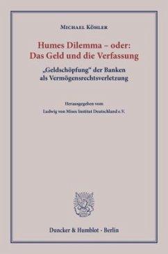 Humes Dilemma - oder: Das Geld und die Verfassung