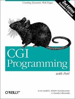 CGI Programming with Perl (eBook, ePUB) - Guelich, Scott