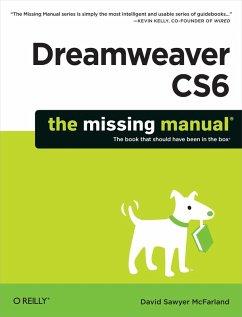 Dreamweaver CS6: The Missing Manual (eBook, ePUB) - Mcfarland, David Sawyer