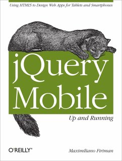 jQuery Mobile: Up and Running (eBook, ePUB) - Firtman, Maximiliano