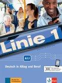 Linie 1 A1. Kurs- und Übungsbuch mit DVD-ROM, Teil 1