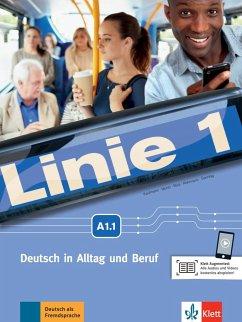 Linie 1 A1. Kurs- und Übungsbuch mit DVD-ROM, Teil 1 - Kaufmann, Susan; Moritz, Ulrike; Rodi, Margret; Rohrmann, Lutz; Sonntag, Ralf; Harst, Eva; Scherling, Theo