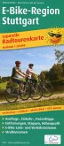 Publicpress Radwanderkarte Leporello E-Bike-Region Stuttgart