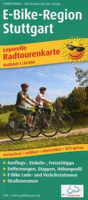 Publicpress Radwanderkarte Leporello E-Bike-Reg...