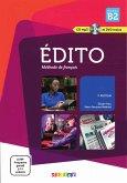 Édito. Livre de l'élève + CD audio + DVD B2