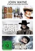 Rio Lobo, True Grit - Der Marshal, Man nennt mich Hondo DVD-Box