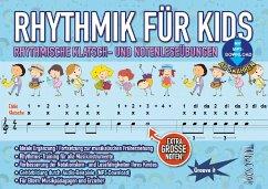 Rhythmik für Kids, m. Audio-CD