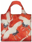 LOQI Bag Woman's Haori / White and Red Cranes