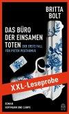 XXL-LESEPROBE: Das Büro der einsamen Toten / Pieter Posthumus Bd.1 (eBook, ePUB)