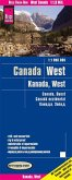 Reise Know-How Landkarte Kanada West (1:1.900.000); West Canada / Canada ouest / Canadá occidental