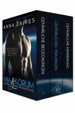 Mia & Korum (Die komplette Krinar Chroniken Trilogie) (eBook, ePUB) - Zaires, Anna