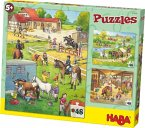 Pferdehof (Kinderpuzzle)