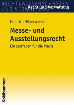 Messe- und Ausstellungsrecht (eBook, ePUB) - Hilderscheid, Heinrich