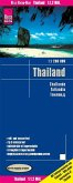 Reise Know-How Landkarte Thailand (1:1.200.000); Thailande; Tailandia