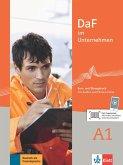 DaF im Unternehmen A1/Kurs- und Übungsbuch mit Audios und Filmen online