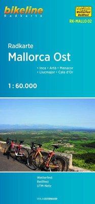 Bikeline Radkarte Mallorca Ost
