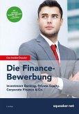 Das Insider-Dossier: Die Finance-Bewerbung (eBook, ePUB)