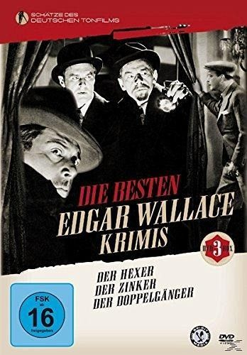 die besten edgar wallace krimis 3 discs film auf dvd. Black Bedroom Furniture Sets. Home Design Ideas