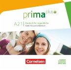 Audio-CD zum Schülerbuch / Prima plus - Deutsch für Jugendliche Bd.A2.1