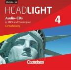 English G Headlight - Allgemeine Ausgabe - Band 4: 8. Schuljahr, Audio-CDs (Vollfassung) - Audio-Dateien auch als MP3 / English G Headlight, Allgemeine Ausgabe Bd.4