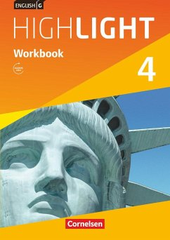 English G Highlight 04: 8. Schuljahr. Workbook mit Audio-CD Audio-Materialien Hauptschule